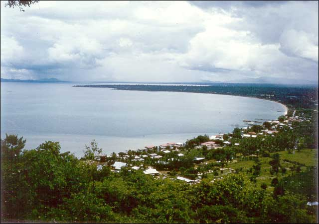 Pattaya in 1965 - Photographed from Phratamnak Hill