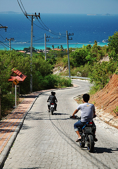 Koh Larn By Motorbike
